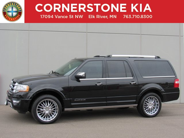 Ford Expedition El >> Pre Owned 2015 Ford Expedition El Platinum 4d Sport Utility In Elk