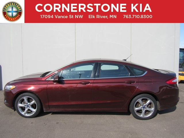 Pre Owned 2015 Ford Fusion SE 4D Sedan in Elk River KU1210
