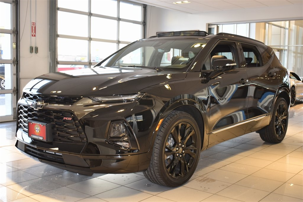 New 2019 Chevrolet Blazer Rs 4d Sport Utility In Elk River 19180